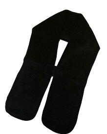 【お得な2個セット】ほっとストール 男女兼用・フリーサイズ 使い捨てカイロ用ポケット付防寒マフラー