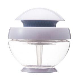 arobo アロボ watering air refresher CLV1000-S 空気清浄機 パールホワイト フィルターレス ウォーター アロマ インテリア USB LED 間接照明