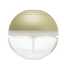 【アウトレット品】arobo アロボ watering air refresher CLV-1900-L-CG シャンパンゴールド 空気清浄機 ステンレスボディー 水のチカラで空気を洗う フィルターレス