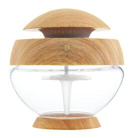 アロボ arobo 空気清浄機 ナチュラル ウッド調 水で空気を洗う LED照明 オシャレ CLV-1010-M-WD-NA2 Mサイズ