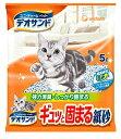 【ユニチャーム】デオサンド ギュッと固まる紙砂 5Lx6個(ケース販売)