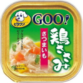 【日本ペット】ビタワングー 鶏ささみ さつまいも 100g
