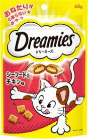 【マースジャパン】ドリーミーズ シーフード&チキン味 60g