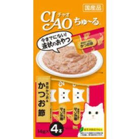 【いなばペット】チャオちゅ〜る 宗田かつお&かつお節 14g×4本