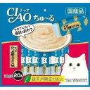 【いなばペット】チャオちゅ〜る かつお かつお節ミックス味 14gx20本