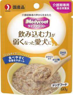 【ペットライン】メディコート ライフアシスト ジェルタイプ ミルク仕立て 60g