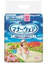 【ユニチャーム】マナーウェア 女の子用 小〜中型犬用 Mサイズ 34枚x8個(ケース販売)