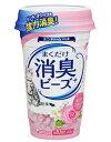 【ユニチャーム】猫トイレまくだけ 香り広がる消臭ビーズ 華やかなピュアフローラルの香り 450ml