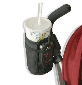 【送料無料】hanano ベビーカー用 多機能 小物入れ バッグ マザーズバッグ ドリンクホルダー ペットボトル 哺乳瓶 収納 簡単 取り付け(タイプB)