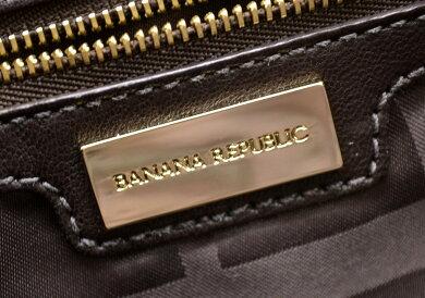 【バッグ】BANANAREPUBLICバナナリパブリックトートバッグショルダートートパナマレザーベージュダークブラウン【中古】【k】【Blumin楽天市場店】