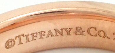 【ジュエリー】【新品仕上げ済】TIFFANY&Co.ティファニー1837ナローリング指輪8号#8ルべドメタルロゼローズピンク【中古】【k】【Blumin楽天市場店】