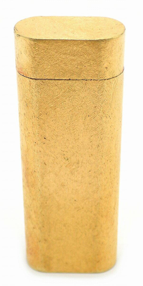Cartier カルティエ ガスライター ゴールド ゴールドメッキ GP 【中古】【u】【Blumin 楽天市場店】