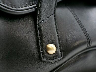 【バッグ】FolliFollieフォリフォリハンドバッグレザーブラック黒【中古】【k】【Blumin楽天市場店】