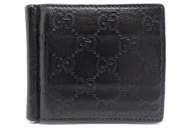 【財布】GUCCIグッチグッチシマ2つ折札入れマネークリップ黒ブラック170580493075【中古】【k】【Blumin楽天市場店】