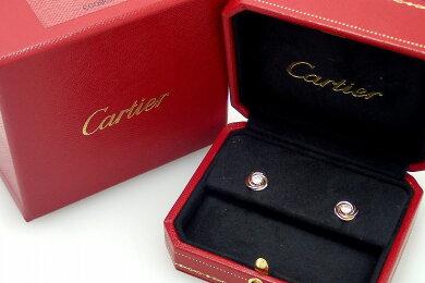 【ジュエリー】【新品仕上げ済】CartierカルティエトリニティピアスK18YGWGPGスリーゴールドイエローゴールドホワイトゴールドピンクゴールドダイヤモンドB8045300【中古】【k】【Blumin楽天市場店】