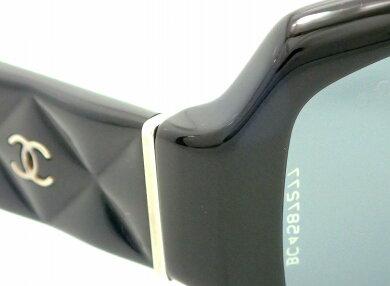 CHANELシャネルサングラスマトラッセココマークスモークブラック黒57□171355125【中古】【k】【Blumin楽天市場店】