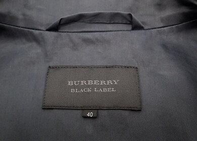 【アパレル】BURBERRYバーバリーBLACKLABELブラックレーベルレディースコートトレンチコート綿ナイロンキュプラ#40ネイビー【中古】【k】【Blumin楽天市場店】