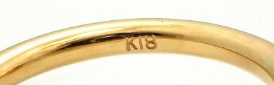 【ジュエリー】ageteアガットパールファッションリング指輪K18ゴールドマザーオブパール9号【中古】【k】【Blumin楽天市場店】