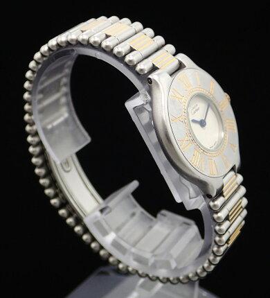 【ウォッチ】Cartierカルティエマスト21マストヴァンティアンSSGPレディースQZクォーツ腕時計W1002253【中古】【k】【Blumin楽天市場店】