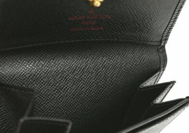 【財布】LOUISVUITTONルイヴィトンエピポルトモネサーンプルコインケースコインパース小銭入れノワール黒ブラックM63412【中古】【k】【Blumin楽天市場店】