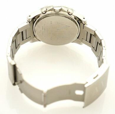 【ウォッチ】ARMANIEXCHANGEアルマーニエクスチェンジクロノグラフデイトブラック文字盤SSメンズQZクォーツ腕時計AX2084【中古】【k】【Blumin楽天市場店】