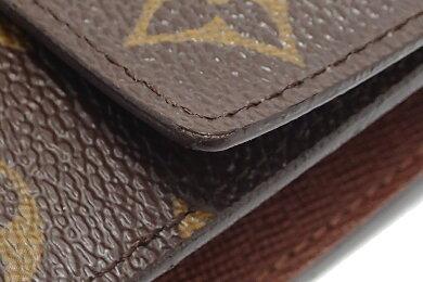 【財布】LOUISVUITTONルイヴィトンモノグラムポルトフォイユインターナショナル3つ折長財布M61217【中古】【k】【Blumin楽天市場店】
