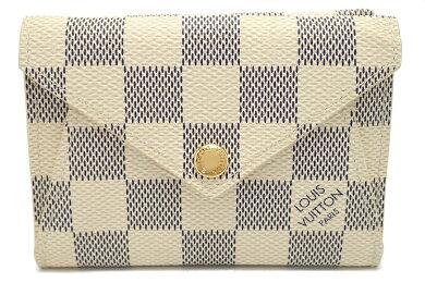 【財布】LOUISVUITTONルイヴィトンダミエアズールポルトフォイユオリガミコンパクト2つ折財布N63100【中古】【k】【Blumin楽天市場店】