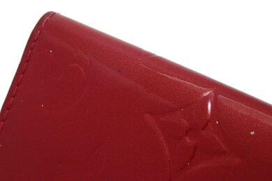 LOUISVUITTONルイヴィトンモノグラムヴェルニミュルティクレ44連キーケースポムダムール赤レッドM91976【中古】【k】【Blumin楽天市場店】