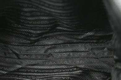 【バッグ】PRADAプラダショルダーバッグ斜め掛けショルダーナイロンレザーNERO黒ブラック【中古】【k】【Blumin楽天市場店】