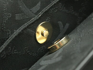 【バッグ】PalomaPicassoパロマピカソショルダーバッグ2WAY斜め掛けレザー黒ブラックゴールド【中古】【k】【Blumin楽天市場店】