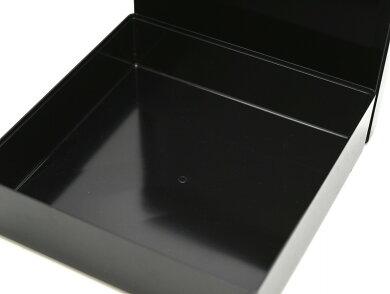CHANELシャネルNo.5ロゴ入りスクエア型BOXボックスマルチケースプラスティックプラスチック黒ブラック箱のみボックスのみシグネチャーボックス【中古】【k】【Blumin楽天市場店】