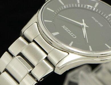 【ウォッチ】CITIZENシチズンSSブラック文字盤エコドライブメンズ腕時計E031-S103720【中古】【k】【Blumin楽天市場店】