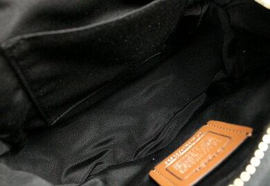 【新品未使用品】【バッグ】COACHコーチフラワードッグブラックナイロンミニバックパックミニリュックリュックサックブラック黒マルチカラーF57636【k】【Blumin楽天市場店】