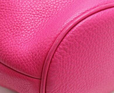 【バッグ】MICHAELKORSマイケルコースマイケルコースショルダーバッグ巾着ミニバッグミニショルダーレザーピンク【中古】【k】【Blumin楽天市場店】