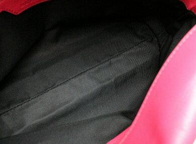 【バッグ】BURBERRYバーバリーショルダーバッグ肩掛け斜め掛けノバチェックキャンバスレザーブラウンピンク【中古】【k】