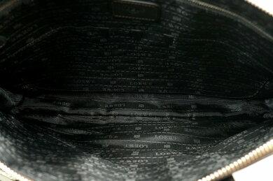 【バッグ】LOEWEロエベトレド書類カバンブリーフケースビジネスバッグ書類ケース書類バッグビジネスカバンレザー茶ダークブラウン【中古】【k】