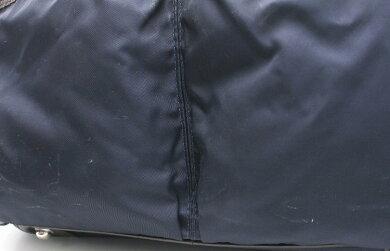【バッグ】Orobiancoオロビアンコビジネスバッグブリーフケース書類ショルダーバッグ紺ネイビー茶ブラウンナイロンレザー【中古】【k】