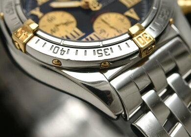 【ウォッチ】BREITLINGブライトリングクロノマットエボリューションビコロクロノグラフデイトSSK18メンズATオートマ腕時計B13356【中古】【k】
