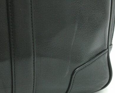 【バッグ】COACHコーチレザー2WAYショルダービジネスバッグブリーフケース書類カバン斜め掛けショルダー黒ブラック70777【中古】【k】