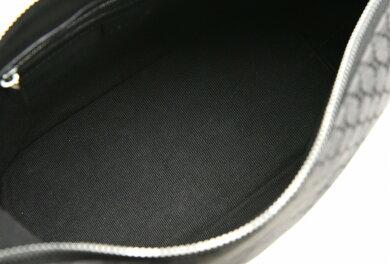 【バッグ】CELINEセリーヌCブラゾンマカダムワンショルダーバッグショルダーバッグキャンバスレザーブラック黒【中古】【k】