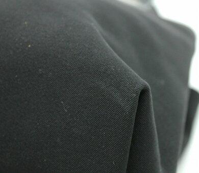 【バッグ】SalvatoreFerragamoサルヴァトーレフェラガモハンドバッグレザーナイロンキャンバスブラック黒シルバー金具AQ-219650【中古】【k】