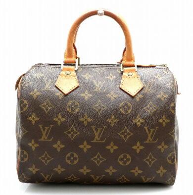 【バッグ】LOUISVUITTONルイヴィトンモノグラムスピーディ25ミニボストンバッグハンドバッグM41528【中古】【k】