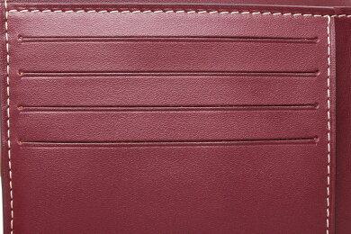 【未使用品】【財布】GOYARDゴヤール2つ折財布ヘリンボーン柄パープル紫イニシャル入りAPM11033【中古】【k】