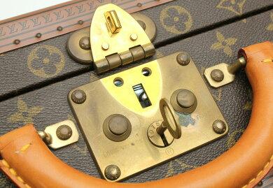 【バッグ】LOUISVUITTONルイヴィトンモノグラムミニトランクハードケース鍵付【中古】【k】