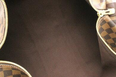 【バッグ】LOUISVUITTONルイヴィトンダミエキーポル50トラベルバッグボストンバッグ旅行用カバントラベルボストンイニシャル入りN41427【中古】【k】