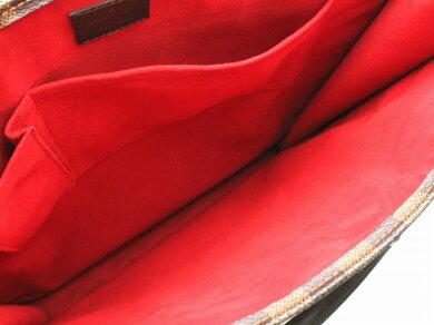 【バッグ】LOUISVUITTONルイヴィトンダミエサックプラトートバッグショッピングバッグビジネスバッグハンドバッグスクエア型縦長N51140【中古】【k】