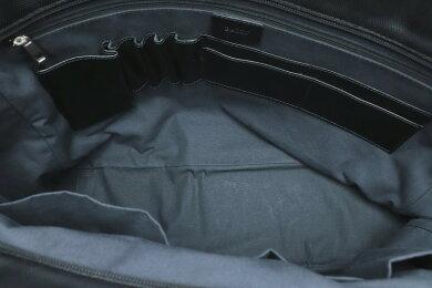 【バッグ】BALLYバリートートバッグハンドバッグナイロンキャンバスレザーブラック黒【中古】【k】