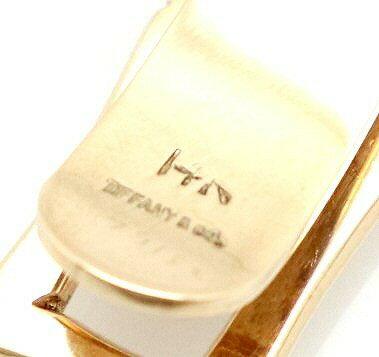 【ジュエリー】TIFFANY&Co.ティファニーネクタイピンタイピンタイバーK14ゴールド【中古】【k】