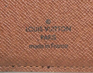 LOUISVUITTONルイヴィトンモノグラムオーガナイザードゥポッシュカードケース名刺入れパスケース定期入れM61732【中古】【k】