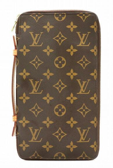 【バッグ】LOUISVUITTONルイヴィトンモノグラムトラベルケースマルチケースセカンドバッグM60119【中古】【k】